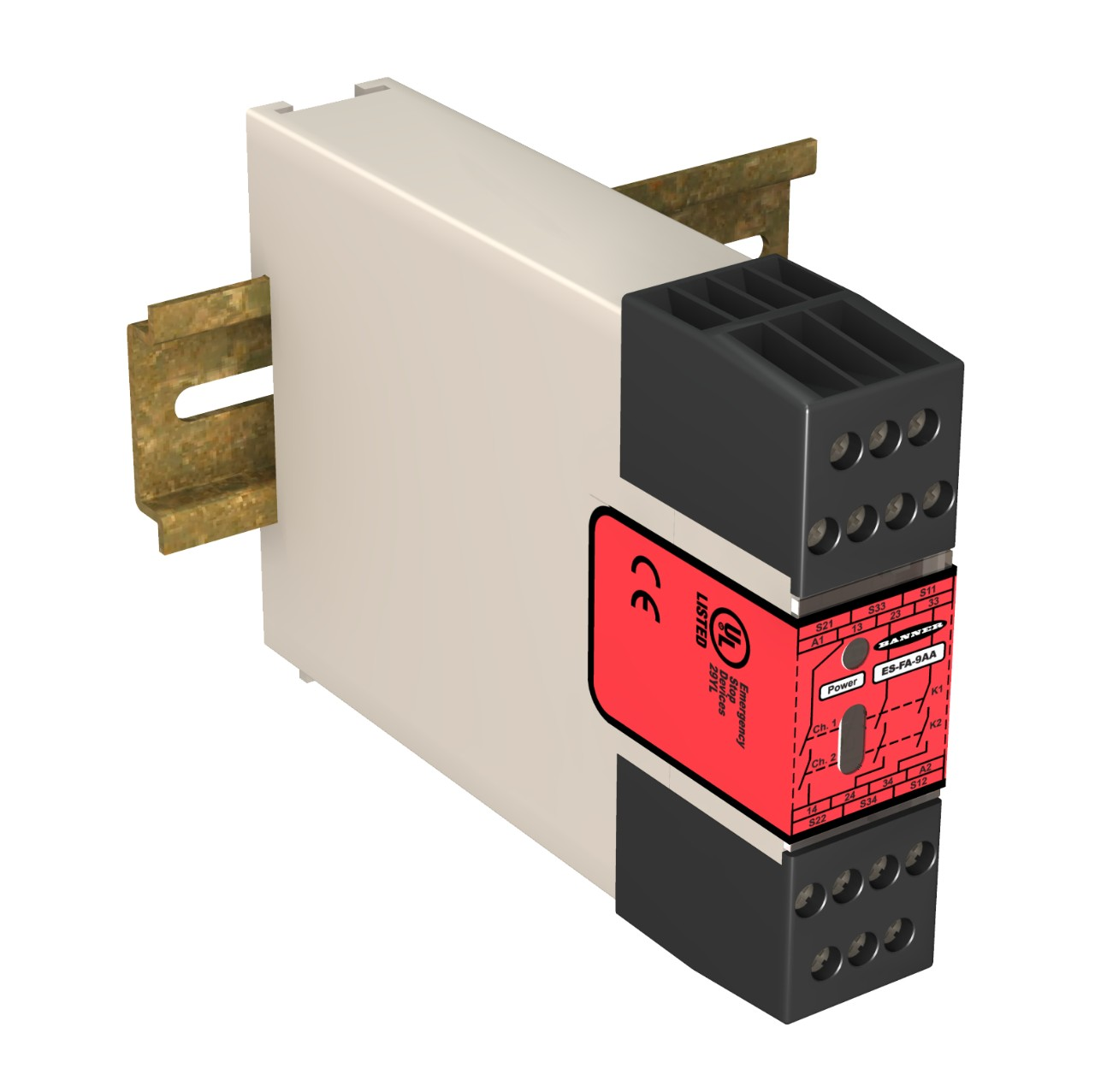 Banner Monitoring Safety Relay