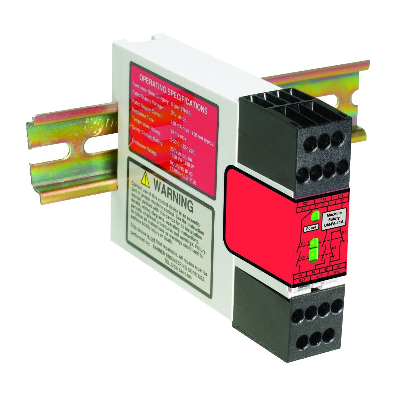 Banner Universal Safety Relays