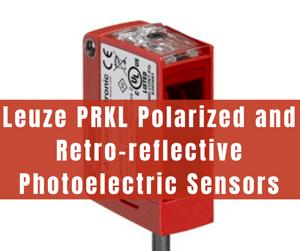 Leuze PRKL Polarized and Retro-reflective