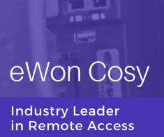 eWON Cosy: Industry Leader in Remote Access