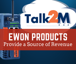 eWON Products Provide a Source of Revenue
