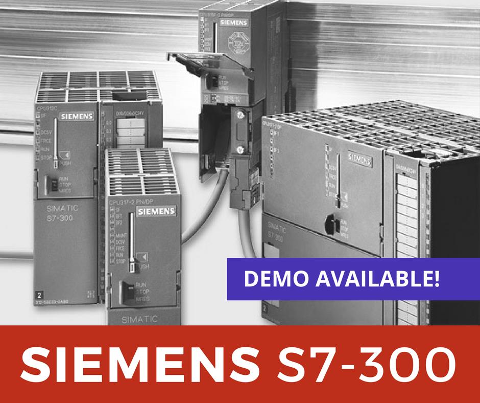 Siemens S7-300 – Product Demo